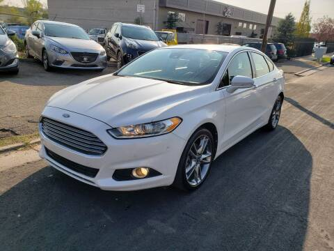 2013 Ford Fusion for sale at High Line Auto Sales in Salt Lake City UT