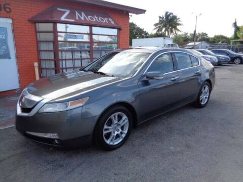 2010 Acura TL for sale at Z MOTORS INC in Fort Lauderdale FL
