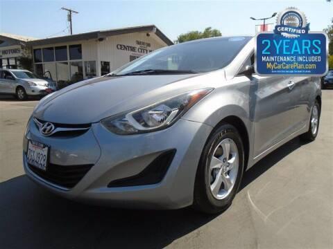 2015 Hyundai Elantra for sale at Centre City Motors in Escondido CA