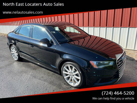 2015 Audi A3 for sale at North East Locaters Auto Sales in Indiana PA