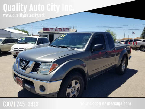 2005 Nissan Frontier for sale at Quality Auto City Inc. in Laramie WY