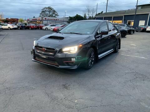 2015 Subaru WRX for sale at First Union Auto in Seattle WA