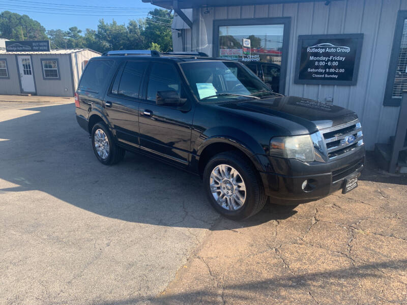 2012 Ford Expedition for sale at Rutledge Auto Group in Palestine TX