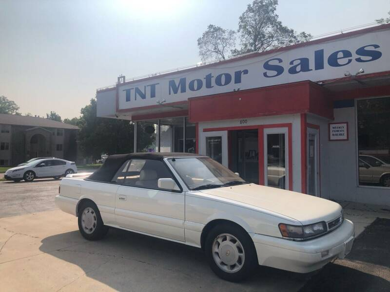 1992 Infiniti M30 for sale at TNT Motor Sales in Oregon IL