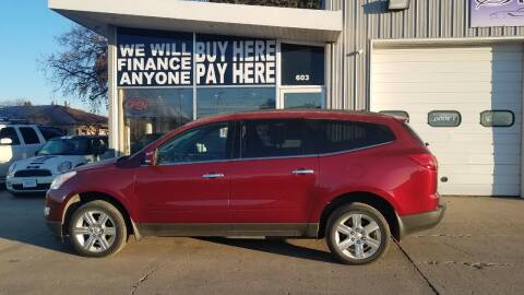 2011 Chevrolet Traverse for sale at STERLING MOTORS in Watertown SD