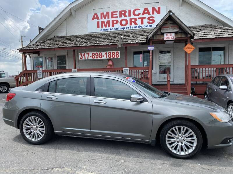 2011 Chrysler 200 for sale at American Imports INC in Indianapolis IN