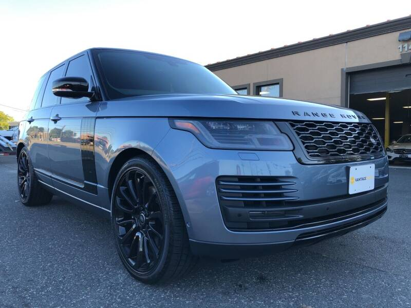 2020 Land Rover Range Rover for sale at Vantage Auto Wholesale in Lodi NJ