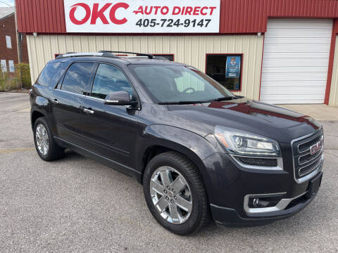 2017 GMC Acadia Limited for sale at OKC Auto Direct, LLC in Oklahoma City OK