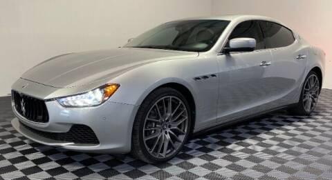 2015 Maserati Ghibli for sale at SIRIUS MOTORS INC in Monroe OH