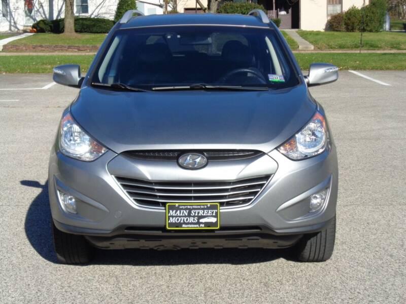2013 Hyundai Tucson for sale at MAIN STREET MOTORS in Norristown PA