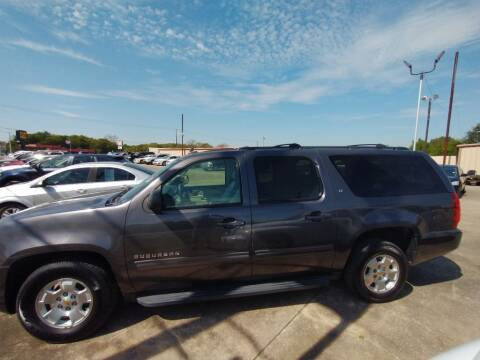 2010 Chevrolet Suburban for sale at BIG 7 USED CARS INC in League City TX