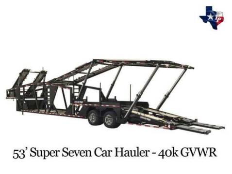 2021 TEXAS PRIDE 53' Super Seven Car Hauler for sale at Park and Sell - Trailers in Conroe TX