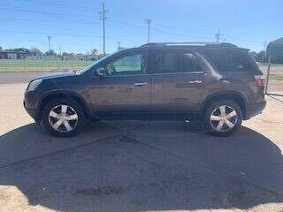 2011 GMC Acadia for sale at J & S Auto in Downs KS