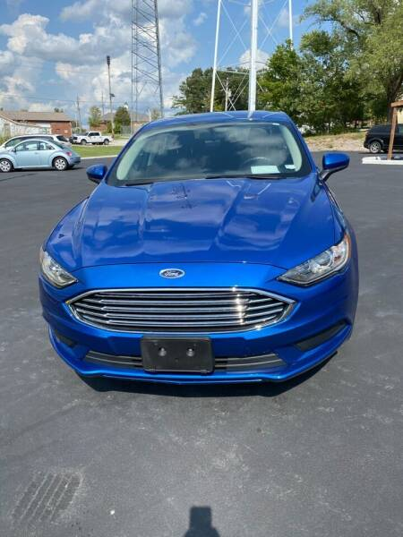 2018 Ford Fusion for sale at MJ'S Sales in Foristell MO