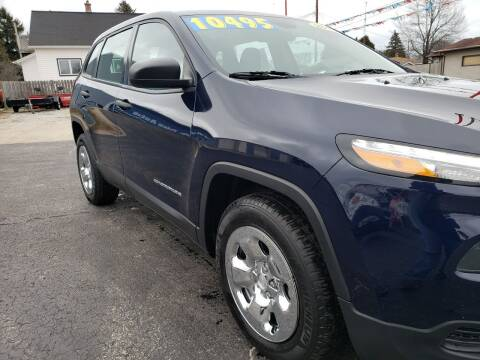 2014 Jeep Cherokee for sale at Best Price Autos in Two Rivers WI