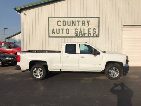 2016 Chevrolet Silverado 1500 for sale at COUNTRY AUTO SALES LLC in Greenville OH
