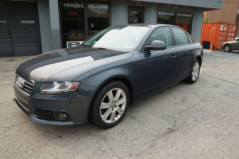 2009 Audi A4 for sale at PA Motorcars in Conshohocken PA