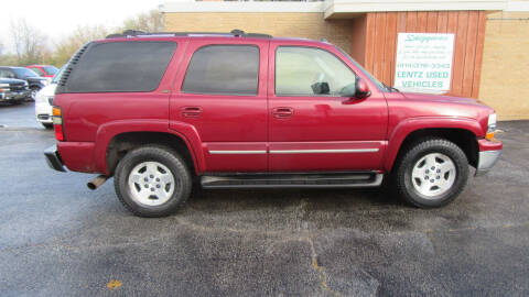 2004 Chevrolet Tahoe for sale at LENTZ USED VEHICLES INC in Waldo WI