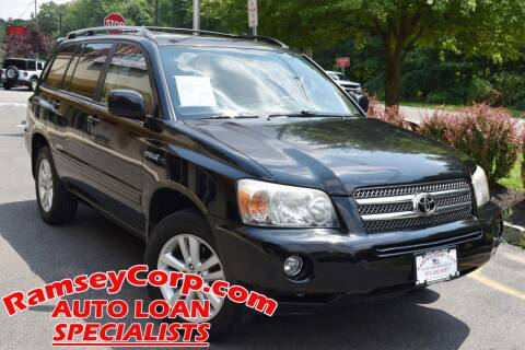 2007 Toyota Highlander Hybrid for sale at Ramsey Corp. in West Milford NJ