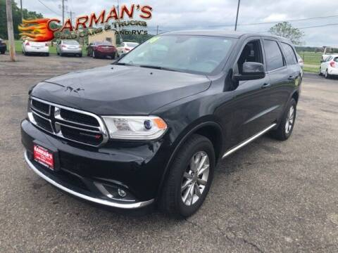 2018 Dodge Durango for sale at Carmans Used Cars & Trucks in Jackson OH