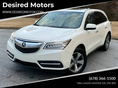 2014 Acura MDX for sale at Desired Motors in Alpharetta GA