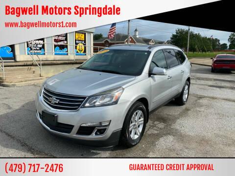 2013 Chevrolet Traverse for sale at Bagwell Motors Springdale in Springdale AR