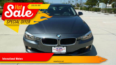 2013 BMW 3 Series for sale at International Motors in San Pedro CA