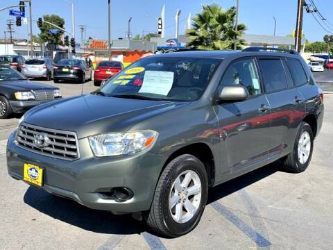 2008 Toyota Highlander for sale at Best Car Sales in South Gate CA