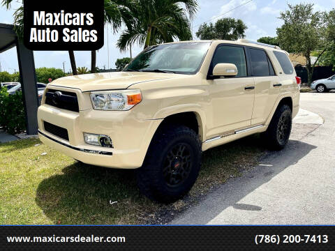 2010 Toyota 4Runner for sale at Maxicars Auto Sales in West Park FL