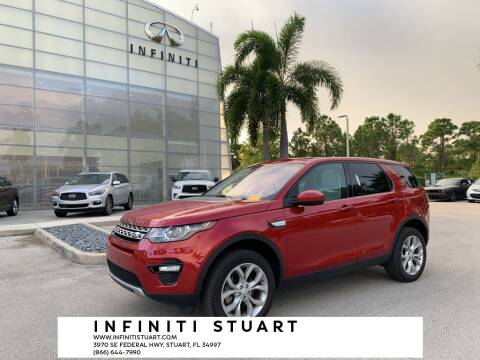 2019 Land Rover Discovery Sport for sale at Infiniti Stuart in Stuart FL