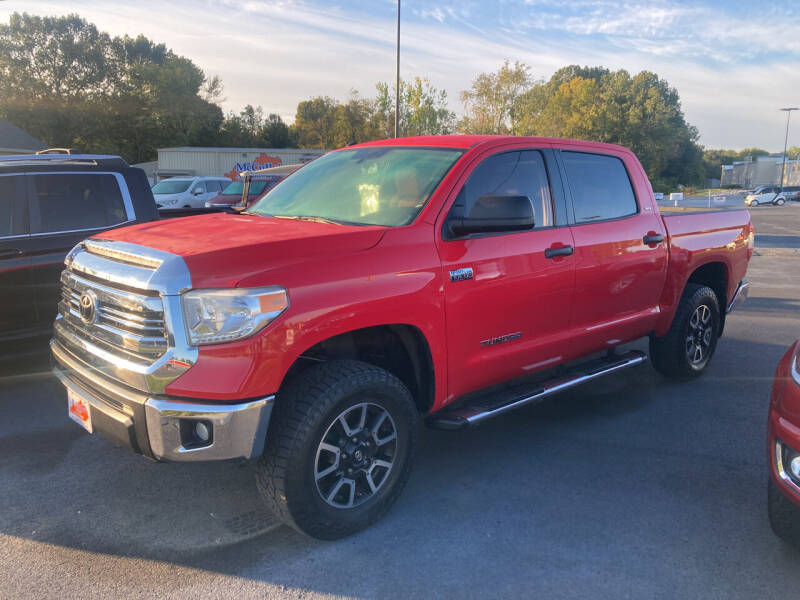 2015 Toyota Tundra for sale at McCully's Automotive - Trucks & SUV's in Benton KY