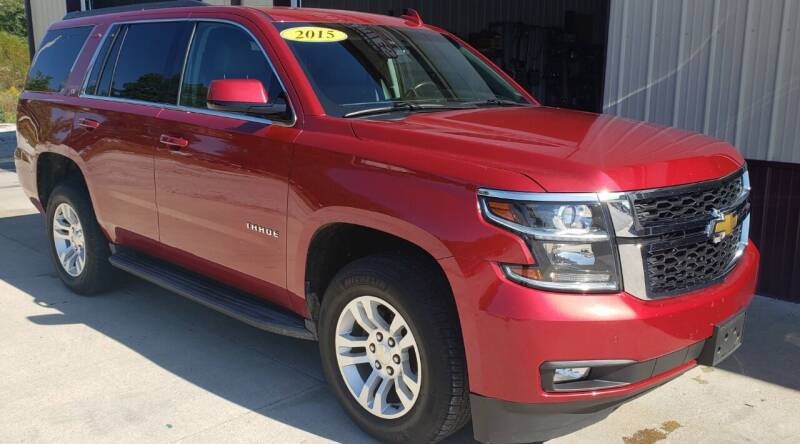 2015 Chevrolet Tahoe for sale at COOPER AUTO SALES in Oneida TN