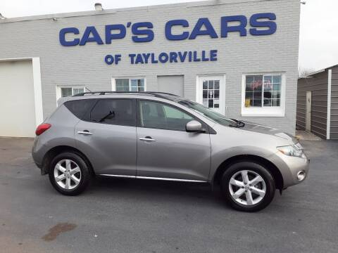 2009 Nissan Murano for sale at Caps Cars Of Taylorville in Taylorville IL