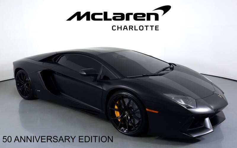 2014 Lamborghini Aventador for sale in Charlotte, NC