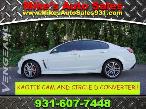 2017 Chevrolet SS for sale at Mike's Auto Sales in Shelbyville TN