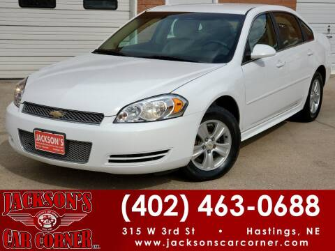 2016 Chevrolet Impala Limited for sale at Jacksons Car Corner Inc in Hastings NE
