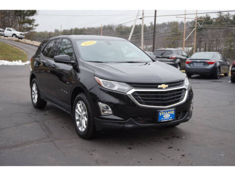 2019 Chevrolet Equinox for sale at VILLAGE MOTORS in South Berwick ME