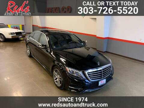 2014 Mercedes-Benz S-Class for sale at Red's Auto and Truck in Longmont CO