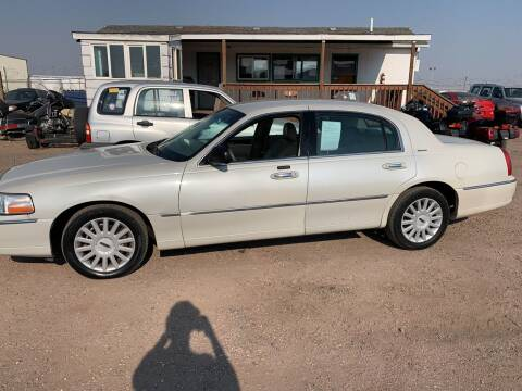 2005 Lincoln Town Car for sale at PYRAMID MOTORS - Fountain Lot in Fountain CO