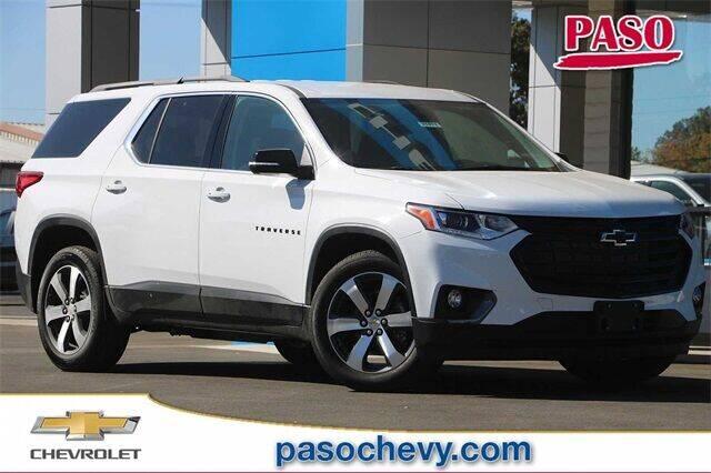 2021 Chevrolet Traverse for sale in Paso Robles, CA