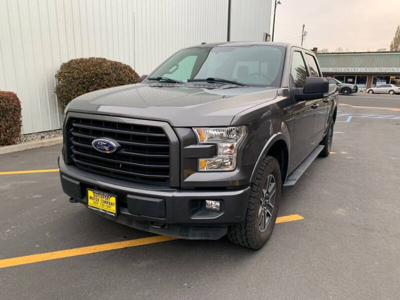 2016 Ford F-150 for sale at DAVENPORT MOTOR COMPANY in Davenport WA