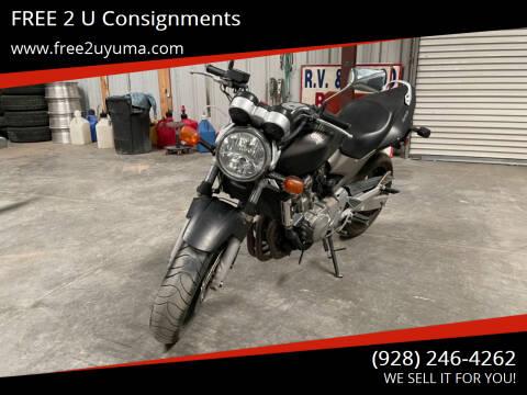 2004 Honda CB600 for sale at FREE 2 U Consignments in Yuma AZ