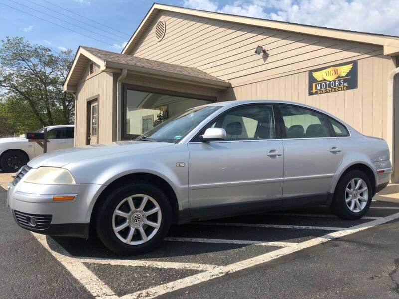2004 Volkswagen Passat for sale at MGM Motors LLC in De Soto KS