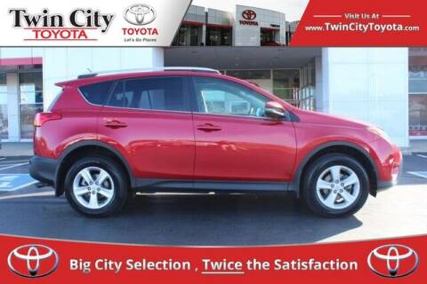 2013 Toyota RAV4 for sale at Twin City Toyota in Herculaneum MO