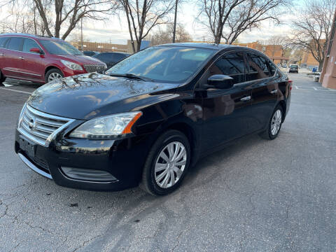 2015 Nissan Sentra for sale at Modern Auto in Denver CO