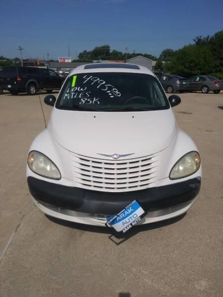 2001 Chrysler PT Cruiser for sale at Arak Auto Group in Bourbonnais IL