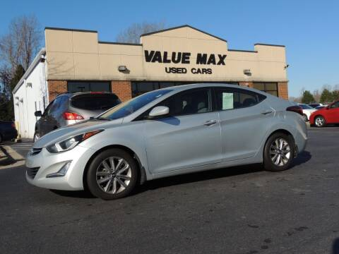 2014 Hyundai Elantra for sale at ValueMax Used Cars in Greenville NC
