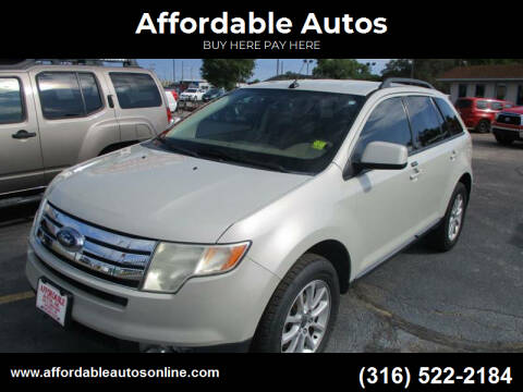 2007 Ford Edge for sale at Affordable Autos in Wichita KS