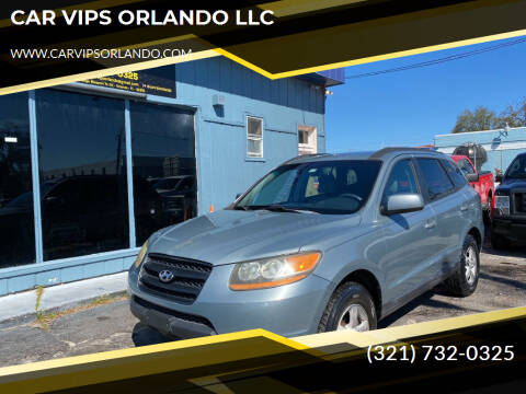 2008 Hyundai Santa Fe for sale at CAR VIPS ORLANDO LLC in Orlando FL