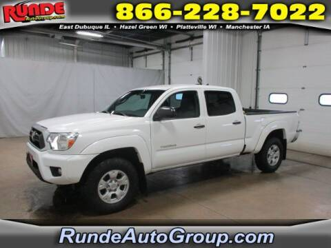 2015 Toyota Tacoma for sale at Runde Chevrolet in East Dubuque IL